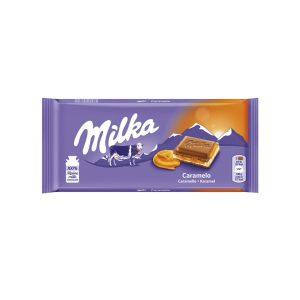 CHOCOLATE MILKA CARAMELO 21X100GR